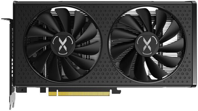 XFX SWFT 210 Radeon RX 6600 - Front View
